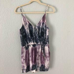 One love clothing the dye romper